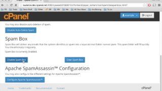 cPanel Tutorials: How to use Apache Spamassassin (cPanel & WHM version 11.48)
