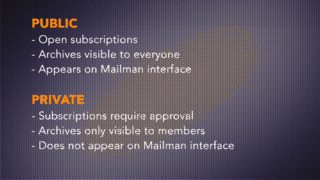 cPanel Tutorials: Mailing Lists   cPanel