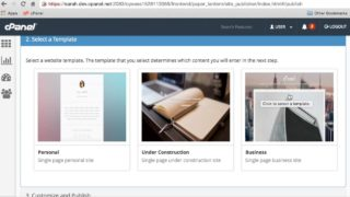 cPanel Tutorials: How to Use Site Publisher to Publish Simple Websites