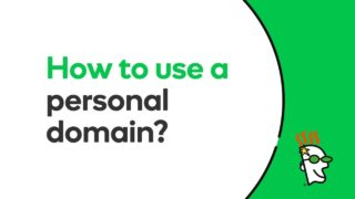 How to Use a Personal Domain | GoDaddy