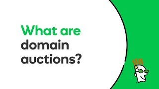 What are Domain Auctions? | GoDaddy